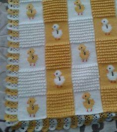 civcili-pitircik-ornekli-tunus-bebek-battaniye-modeli Crochet Baby Blanket Beginner, Baby Knitting, Tunisian Crochet, Manta Crochet, Crochet Bebe, Knit Or Crochet, Baby Patterns, Crochet Patterns, Blanket Shawl
