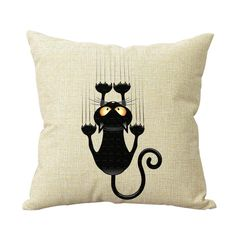Cat Decorative Throw Pillow Case Cover http://dogpawscatclaws.com/product/cat-decorative-throw-pillow-case-cover/?utm_content=buffer7a685&utm_medium=social&utm_source=pinterest.com&utm_campaign=buffer