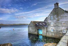 Shetland, Scotland • waterfront — earthXplorer • adventure travel •