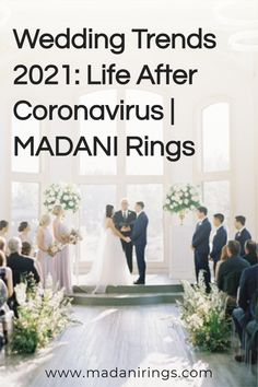 We can be in no doubt that 2021 wedding trends are going to be influenced by the Covid-19 pandemic and the lockdown of 2020. Thousands of brides and grooms were forced to cancel or postpone their nuptials this year, many with the idea that their 2021 wedding would be even bigger and better, but as we all learn to adapt to the 'new norm' of life after Coronavirus, we may need to tweak our plans. Read more on our blog. #MADANIRings #WeddingPlanning #MensMeddingBand #COVIDWedding Wedding Advice, Wedding Themes, Wedding Photos, Wedding Coordinator, Wedding Planner, Wedding Planning Inspiration, Planner Tips, Wedding Etiquette, Grooms