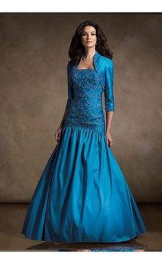 Rina Di Montella 8 Blue beaded drop waist 2 front pockets Special Occasion #MOB #MOG #motherofthebride #motherofthegroom #gown #RinadiMontella #R21050 #specialoccasion #dresses #shopdresses #bridalparty #longdresses #formal #formalgown #formaldress #renaissanceconsignment