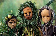 La belleza de las tribus Surma y Surmi - Taringa!