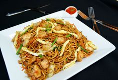 Mauritian Fried Noodles (Mine Frite Special)          Who has ever been to Mauritius and never tried this so typical dish??      ...