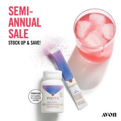 Espira AM Protect Antioxidants and nutritional building blocks that are clinically studied to help protect skin from UV exposure while helping build healthy hair, skin and nails. Semi Annual Sale, Cellular Level, Avon Online, Beauty Must Haves, Avon Representative, Shops, Natural Energy, Facial Oil, Collagen