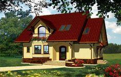 diuna projekt domus Grand Entrance, Home Fashion, Exterior Design, Planer, Tiny House, Home Goods, House Plans, House Design, House Styles