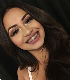 Tiny ass girl with braces