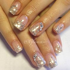 Bling Nails! I just love these! click.to.see.more.eldressico.com