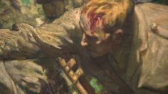 World War One: Somme painting centrepiece of exhibition - BBC News
