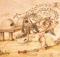 cupid and the honey thief (detail.) | Flickr - Photo Sharing!