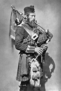 Seaforth highlanders Pipe Major in the Crimean war