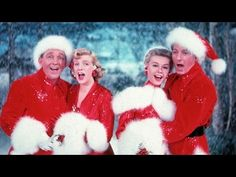 Bing Crosby, Rosemary Clooney, Vera Ellen and Danny Kaye in 'White Christmas', My all time favorite holiday film! White Christmas Movie, Best Christmas Movies, Merry Christmas, What Is Christmas, Vintage Christmas, Christmas Holidays, Holiday Movies, Christmas Classics, Christmas Music