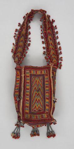 Exotic India Red Beige Dhurrie from Karnataka All-Over Weave Jute
