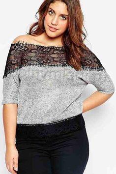 Расширяем любимые тесные вещи - Модная женщина: одежда и вещи для полных Refashion, Off Shoulder Blouse, Curvy, Couture, Lace, Upcycle, Crafty, Women, Ideas
