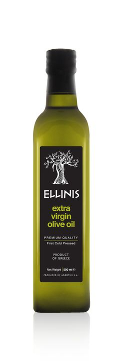 Ellinis Extra Virgin Olive Oil by In Mood Designers , via Behance