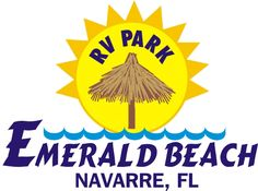Emerald Beach RV Park is located in the Panhandle of Florida half way between Pensacola and Destin on the Santa Rosa Sound. (no dogs allowed on Navarre beaches.)