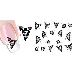1-Set Excellent Popular Hots New Nail Art Stickers Water Transfer Acrylic Decals Manicure Pattern Type NO.03 ** Want to know more, click on the image.