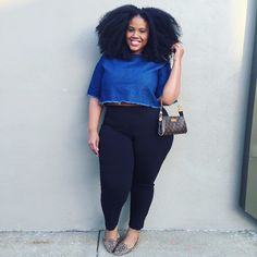 The Natural Fashionista - Nappy Hair- Capsule wardrobe- Plus Size Fashion Blogger