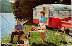 vintage travel trailer postcards   visit ebay com