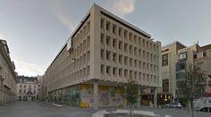 Muntpunt - 1970s - #architecture #googlestreetview #googlemaps #googlestreet #belgium #brussels #brutalism #modernism