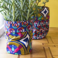 Tuto DIY | CACHE-POT WAX - Mondial Tissus