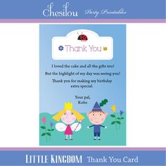 Customized Ben & Holly's Little Kingdom Digital by Chesilou