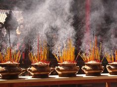 This was such a beautiful scene at both the Buddhist and Confucian temples in Bali. To have so much incense ash that it carries weight and can be used to hold up the next generations of incense sticks? What creative energy! Life after life.