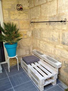 Beautiful Terrace Cosy Corner Made Out Of Pallets #palletbench #palletchair…