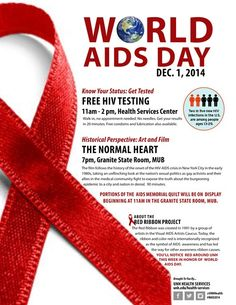 World AIDS Day 2014 at UNH
