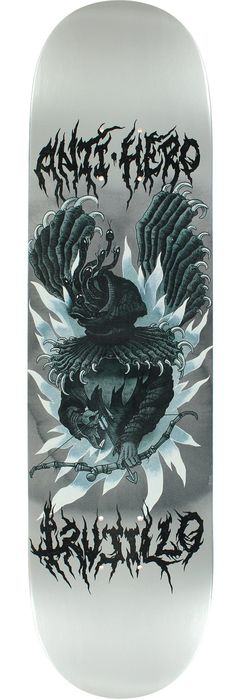 Anti Hero Skateboards Tony Trujillo Jef Whitehead Skateboard Deck