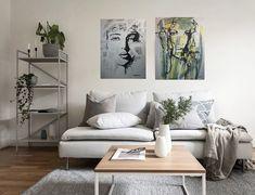 Maleri på vegg interiør Gallery Wall, Home Decor, Kunst, Decoration Home, Room Decor, Home Interior Design, Home Decoration, Interior Design
