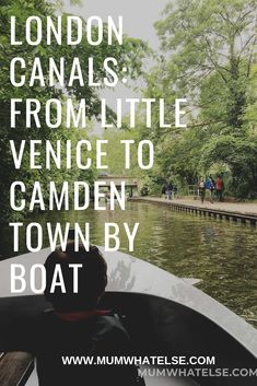 Self-drive boat along the canals of London with GoBoat - A mum in London. London with kids and family travel tips Little Venice London, London With Kids, London Tours, London Travel, Camden Town, Things To Do In London, London Calling, Travel Inspiration, Travel Ideas