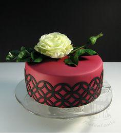 Eine weisse Rose zum Geburtstag...