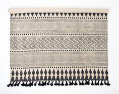 Khanda Handblock Rug, Large in Textiles and Rugs £190.00   India May Home, Luxury Homeware