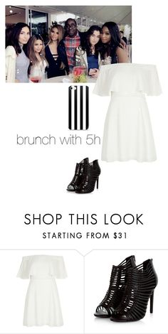 """""""fifth harmony"""" by leisharomano ❤ liked on Polyvore featuring River Island"""