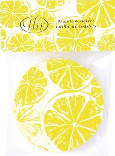 #IHR, #liebevolleTischgeschichten, #IdealHomeRange, #Untersetzer, #Bierdeckel, #coaster, #Limette, #Limone, #Zitrone, #zitronengelb, #yellow, #Lemonbar