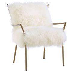 Leary Sheepskin Chair