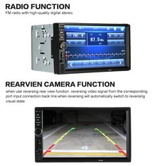 Only US$65.99, black 7 inch2 Din HD Car Stereo FM Radio MP5 - Tomtop.com