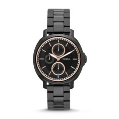 Fossil Chelsey Multifunction Stainless Steel #Watch #Black