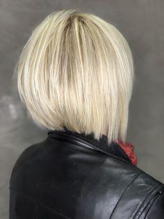 Choppy Bob Hairstyles, Bob Hairstyles For Fine Hair, Short Bob Haircuts, Layered Hairstyles, Haircut Bob, Hairstyles 2018, Middle Hairstyles, Bob Haircut Back View, Graduated Bob Haircuts