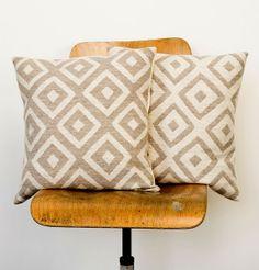 Tori Murphy Broadway Cushions for the new sofa