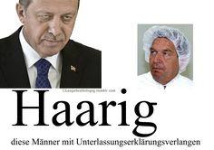 Färbt er seine Haare oder nicht? Wer erinnert sich an Schröders Verlangen nach Unterlassungserklärung?