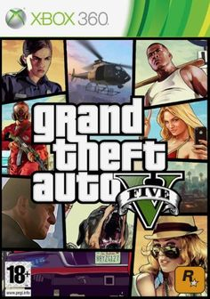 1591555cfda4 Amazon.com  GTA 5 Xbox 360  Video Games