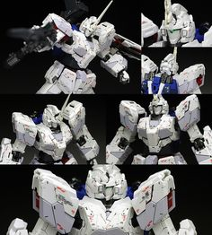 [WORK REVIEW] RG 1/144 UNICORN GUNDAM painted build. Many Images | GUNJAP