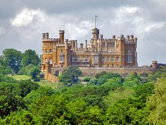 Belvoir Castle, Leicestershire, England.  I went here on my first date with my husband.