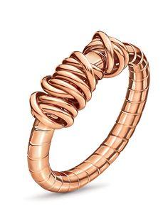 buymadesimple.com: Folli Follie Aegean breeze ring, Rose Gold