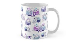 Purrrfect by Mari Ahokoivu. Mugs available in my redbubble shop!
