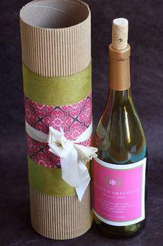 10 confezioni regalo per bottiglie fai-da-te