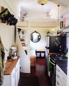 Little Lou Tiny House – building a tiny house on wheels in Burlington, VT