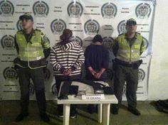 Policía de Risaralda captura correos humanos.