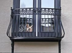 original design railings for balconies